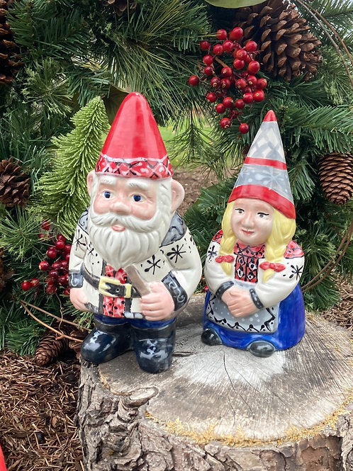Iver and Elsie Gnome