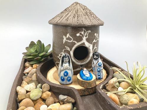 Little rustic Nativity set