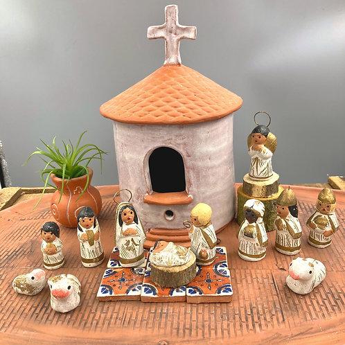 Mexican Nativity Set