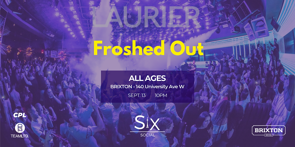 Froshed Out Laurier