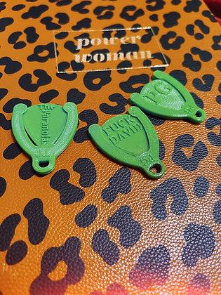 Guitar Pick w/Holder Key Chain - 3 Pack