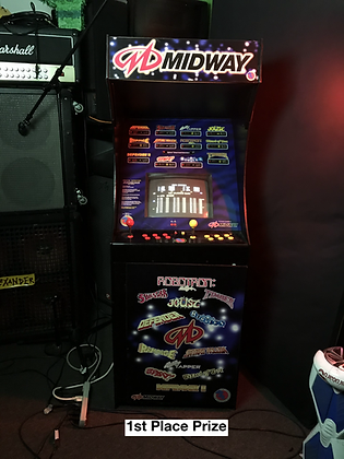 Midway Arcade + More Raffle!