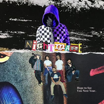"""Nightmare! / HTSYNY"" Split EP by PG & The Paranoias Digital Album"