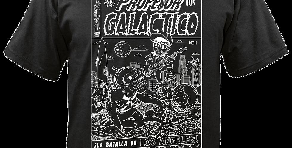 La Batalla de Los Angeles Black T-Shirt