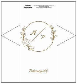 Projekt krówki weselne 6