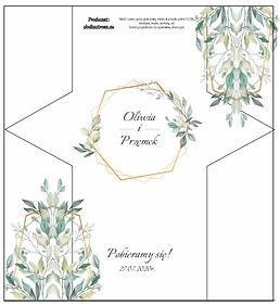 Projekt krówki weselnej 5