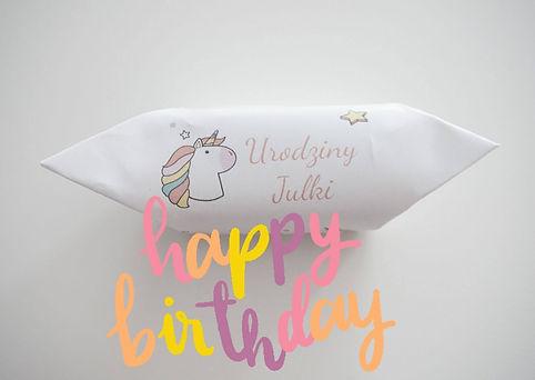 Realizacja krówki urodzionowe Urodziny Julki