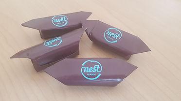 Krówki reklamowe Nest Bank