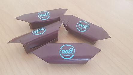 Realizacja krówki reklamowe Nest Bank