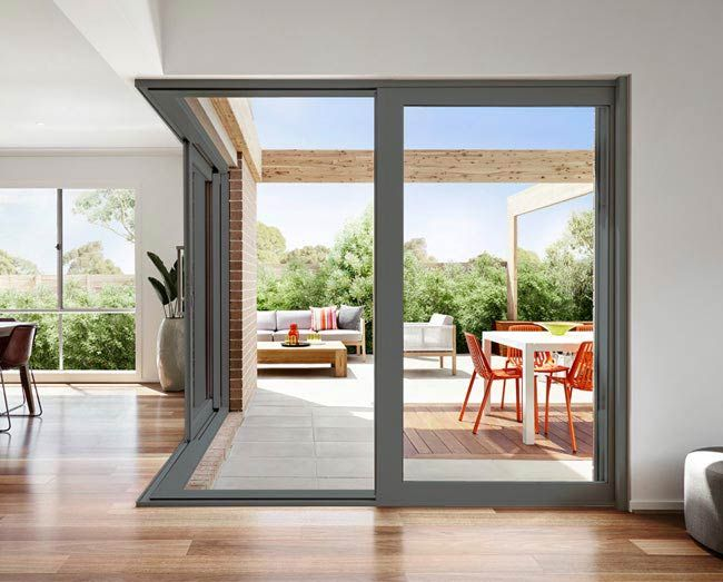 L Shape Sliding Door