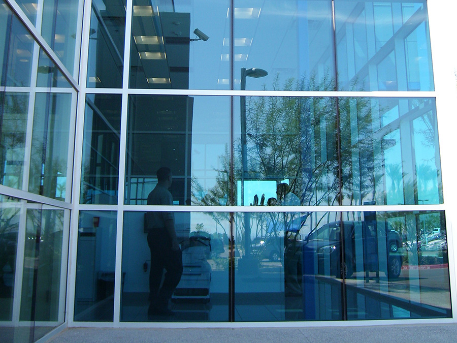Aluminium Frame Curtain Wall