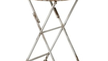 Shabby chic metal occasional table - ideal for a G&T.