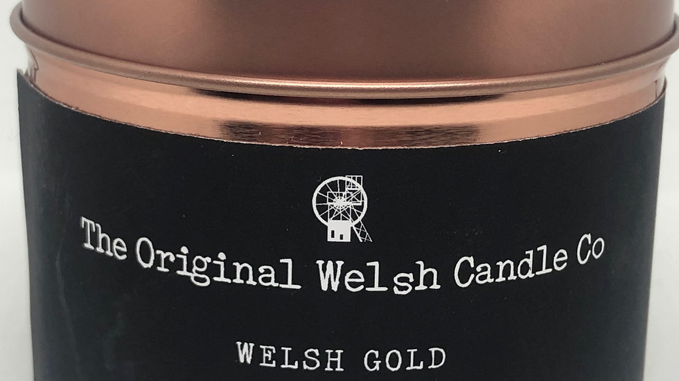 The Original welsh Candle Co 'WELSH GOLD'