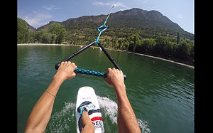 wakeboard Jausiers cable teleskinautique