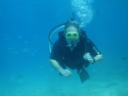 Student on Scuba Diver Course