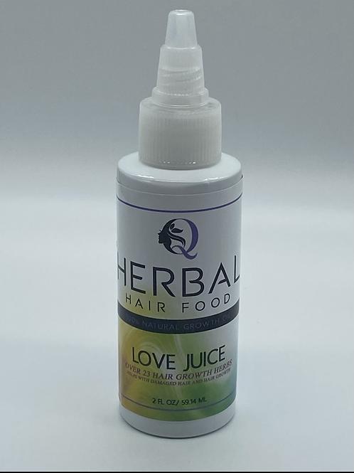 Herbal Hair Growth Oil - Love Juice