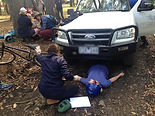 Get out of the classroom and into a realistic scenario- First Aid Courses Cairns