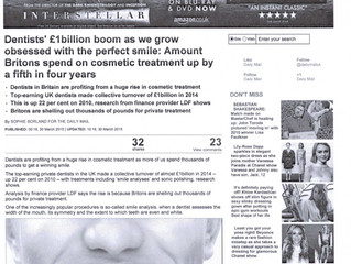 Dentists make over £1 Billion as people in the UK crave the perfect smile: Will your Computer System