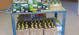 Association Humanitaire Musulmane, Distribution