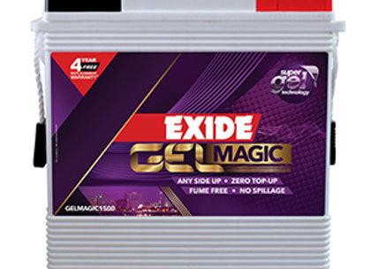 EXIDE - GELMAGIC 1500  -150 AH