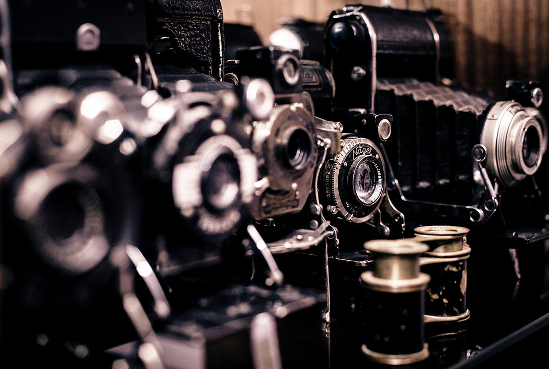 古いカメラ