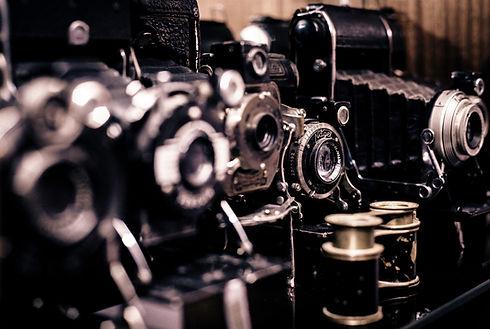 vecchie macchine fotografiche