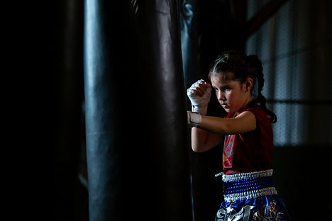 little-girl-thai-boxing-training-is-self