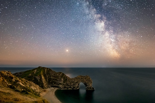 Milky Way over Durdle Door