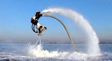 Flyboarding in Kyrenia