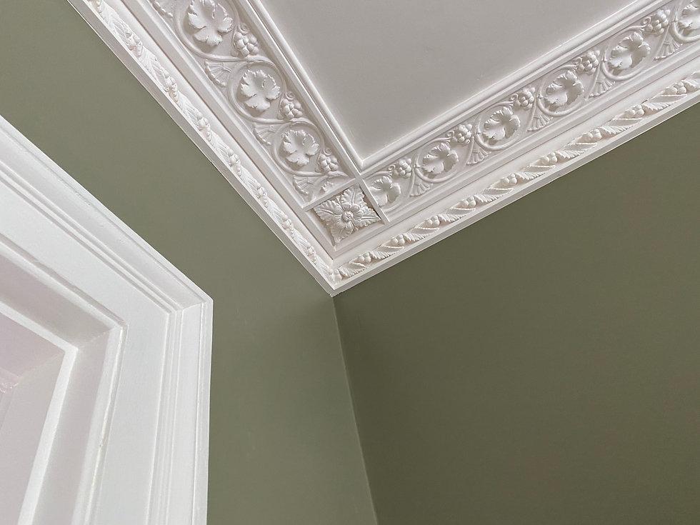 Cornice London Bespoke plaster moulding matching service