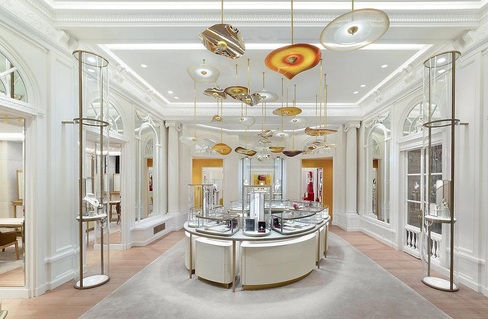 Cornice London Retail Fibrous plasterwork gallery