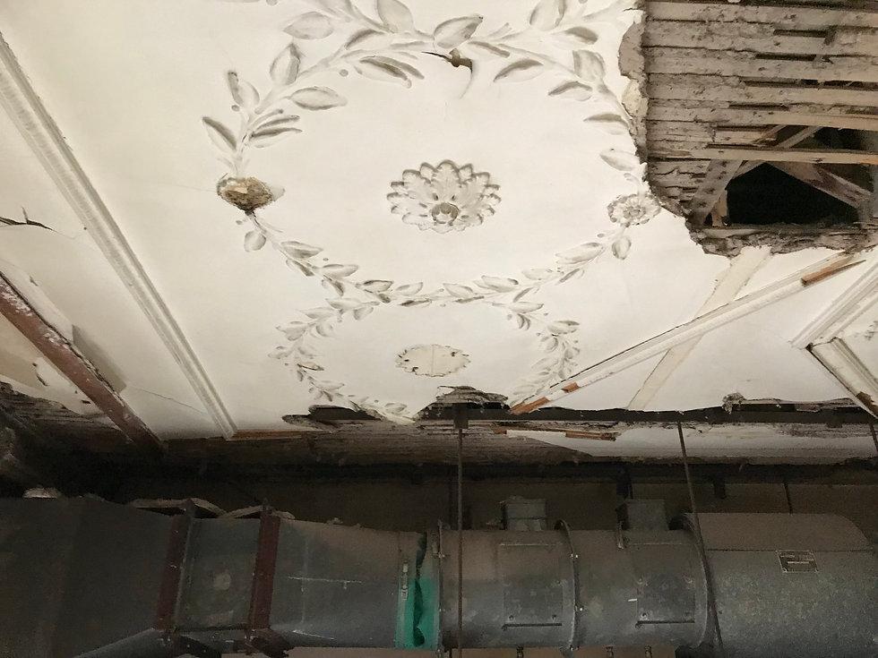 Cornice London Ornate Ceiling Restoration damaged ceiling survey