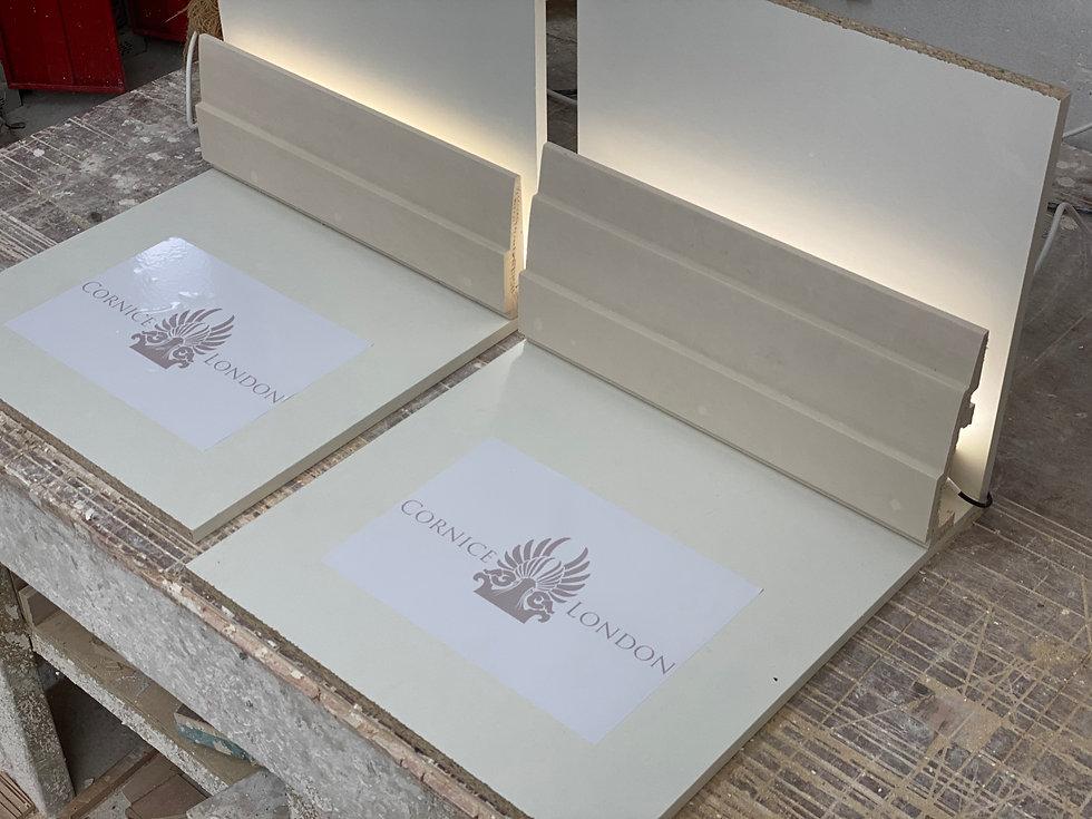 Cornice London lighting cornice sample service
