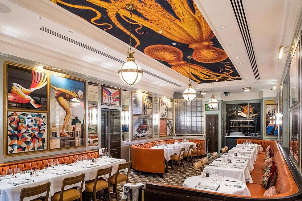Cornice London Restaurant Fibrous plasterwork gallery