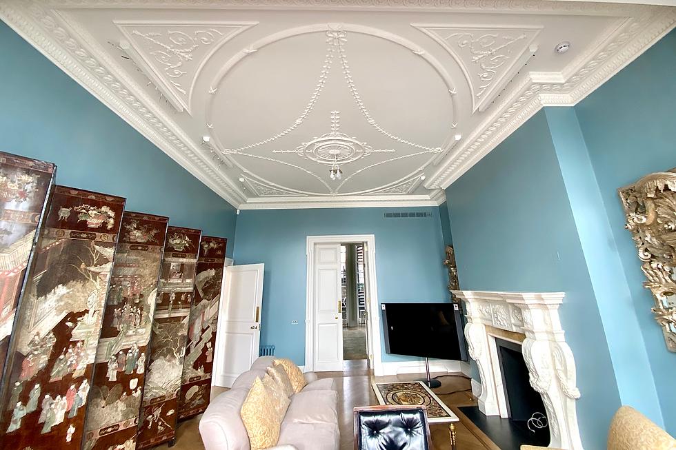 Cornice London Bespoke plaster ceiling service