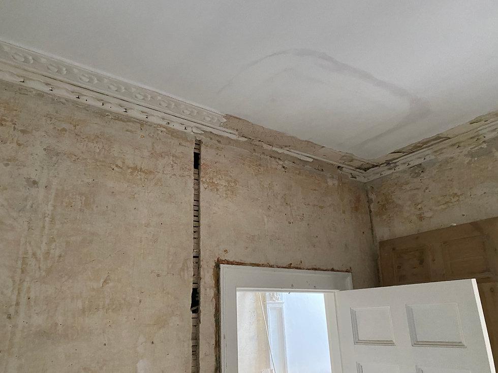 Cornice London plaster moulding matching survey service
