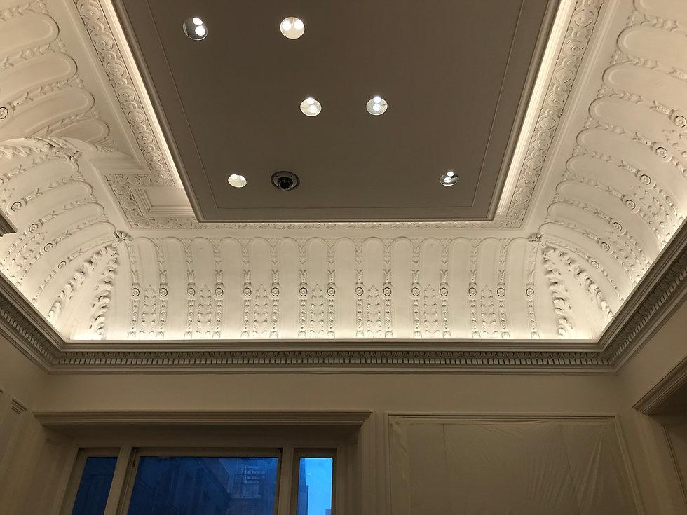 Cornice London Restoration Cornice Fibrous plasterwork gallery