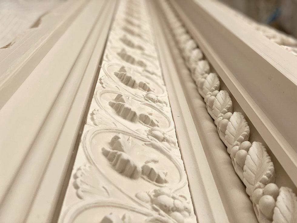 Cornice London plaster moulding matching service