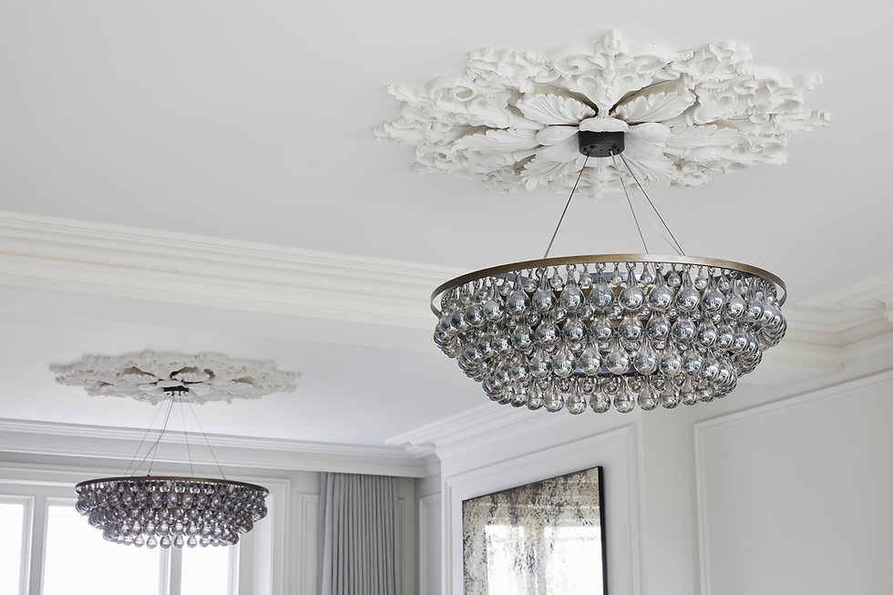 Cornice London Plaster Ceiling Rose collection