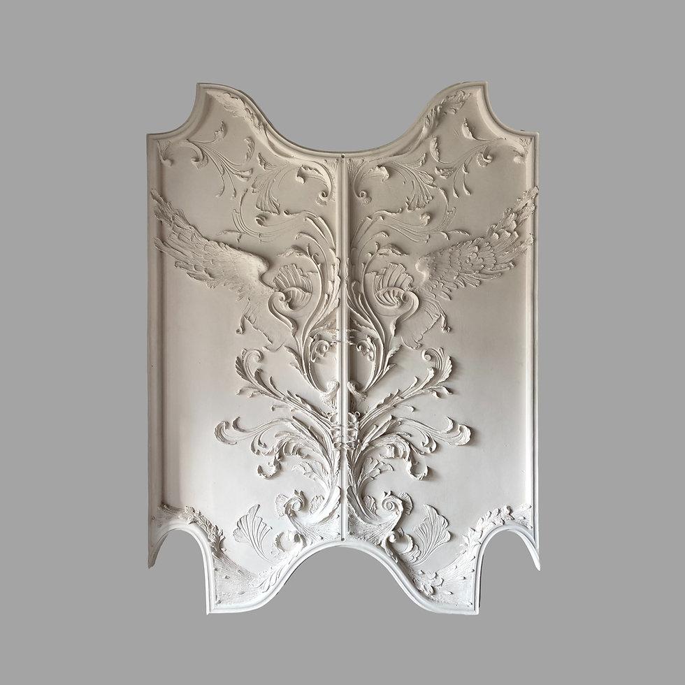 Cornice London Plaster Wall Panel collection