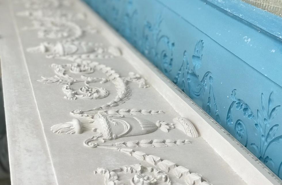 Cornice London Ornate Ceiling Restoration mould mak service