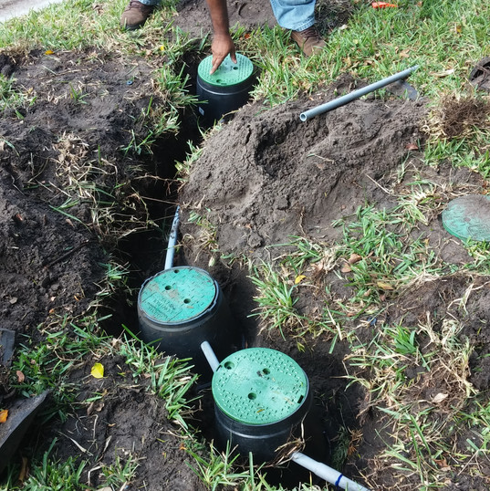 Pumps irrigation repair