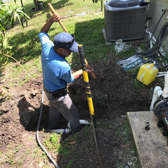 Underground drainage contractors