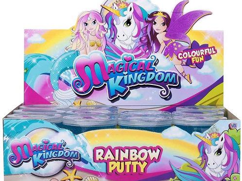 Magical Kingdom Rainbow Putty
