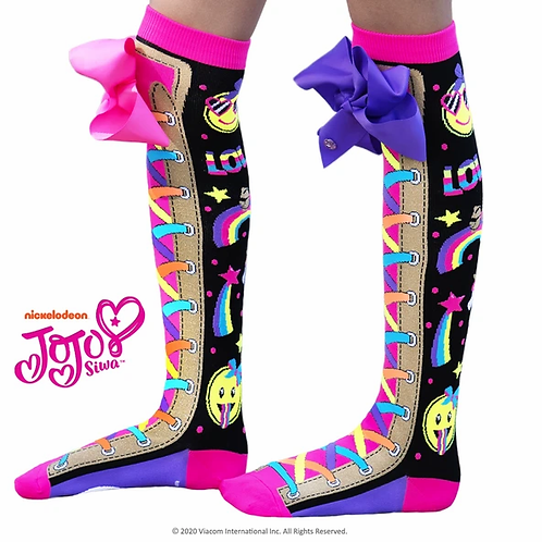 Jojo Unicorn Emoji Socks Standard and Toddler