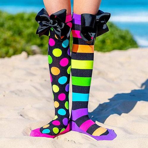 Liquorice Bow Socks Madmia Toddler