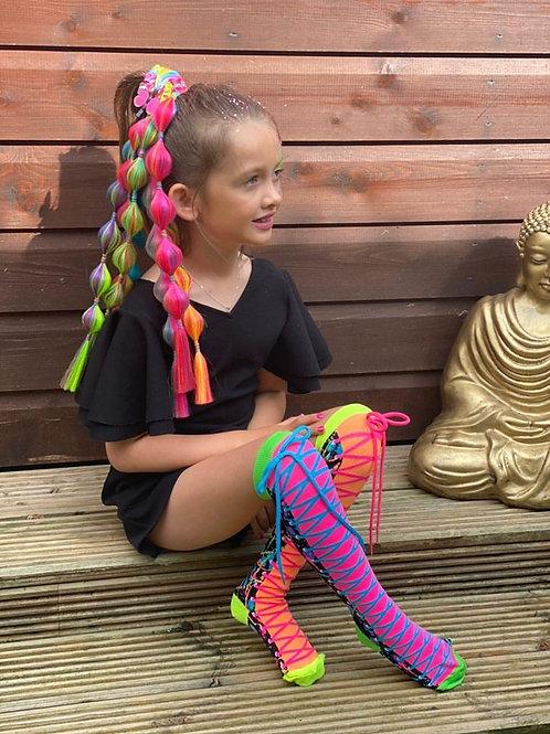 Colour Run Madmia Socks Toddler, Baby and Standard range
