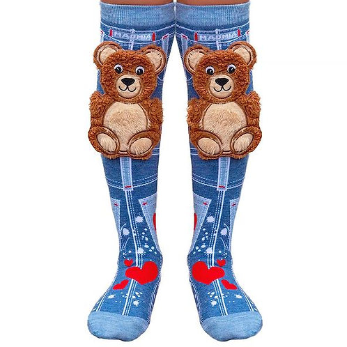 Teddy Bear Madmia Socks Toddler and Standard