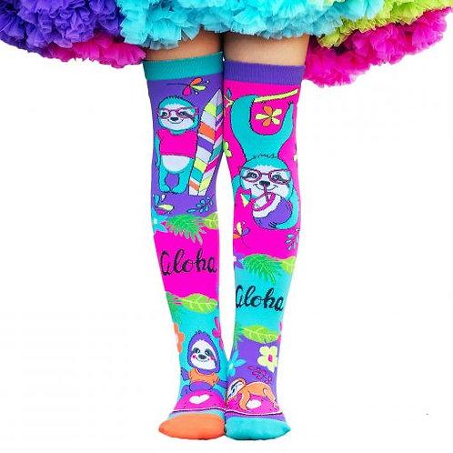 Aloha Vibes Socks MadMia
