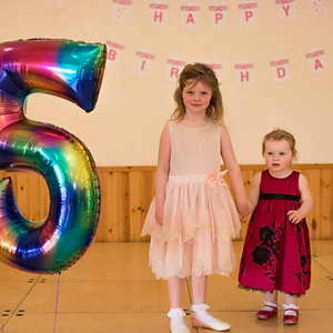 ISLA'S 5TH BIRTHDAY